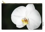 Bright White Orchid Carry-all Pouch