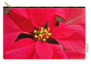 Brightest Red Poinsettia Carry-all Pouch