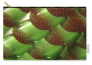 Brilliant Green Abstract 6 Carry-all Pouch