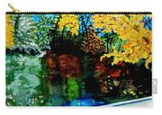 Brilliant Mountain Colors In Reflection Carry-all Pouch