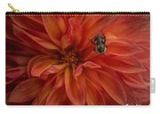 Brilliant Red Dahlia Carry-all Pouch
