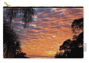 Brilliant Sunset During Winter Carry-all Pouch