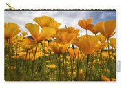 Bring On The Poppies Carry-all Pouch