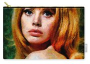 Brit Ekland - Abstract Expressionism Carry-all Pouch