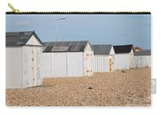 British Beach Huts In Sussex Carry-all Pouch
