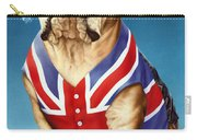 British Bulldog Carry-all Pouch by Andrew Farley