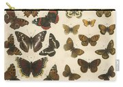 British Butterflies Carry-all Pouch