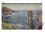 British Coastal View. Coast Of Cornwall Carry-all Pouch