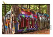 British Columbia Train Wreck Graffiti Carry-all Pouch