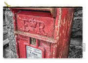British Post Box Carry-all Pouch by Adrian Evans
