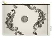 British Shilling Wall Art Carry-all Pouch by Joseph Baril