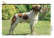 Brittany Dog, Standing Side Carry-all Pouch