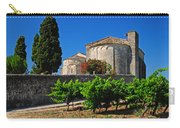 Brittany Vineyard And Monastery  Carry-all Pouch