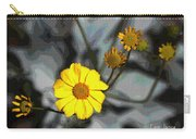 Brittle Bush Flowers In December Carry-all Pouch