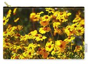 Brittle Bush In Bloom  Carry-all Pouch