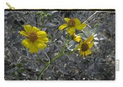 Brittlebush Flowers Carry-all Pouch