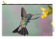 Broad-billed Hummingbird Carry-all Pouch by Jim Zipp