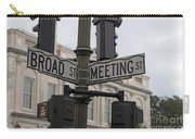 Broad Street And Meeting Street Charleston South Carolina Carry-all Pouch