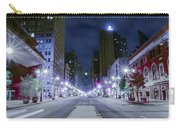 Broad Street At Night Carry-all Pouch