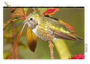 Broad Tailed Hummingbird Carry-all Pouch