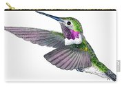 Broad-tailed Hummingbird Carry-all Pouch