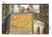 Broadway Billboards - New York Art Carry-all Pouch