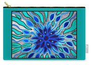 Broken Angel Blooms Carry-all Pouch by Barbara St Jean