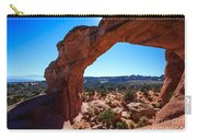 Broken Arch Under Blue Sky Carry-all Pouch