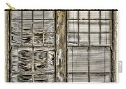Broken Blinds At The Train Station By Diana Sainz Carry-all Pouch