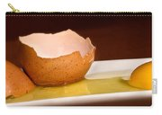 Broken Brown Egg  Carry-all Pouch