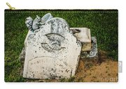 Broken Headstone Squirel Carry-all Pouch