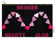 Broken Hearts Club Carry-all Pouch