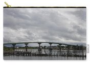Broken Jetty And Franklin Roosevelt Memorial Bridge   Carry-all Pouch