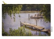 Broken Pier And Sunken Boat Carry-all Pouch
