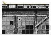 Broken Windows In Black And White Carry-all Pouch by Paul Ward