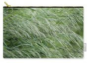 Brome Grass In The Hay Field Carry-all Pouch
