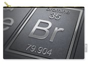 Bromine Chemical Element Carry-all Pouch