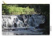 Bronx River Waterfall Carry-all Pouch by John Telfer