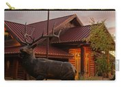 Bronze Elk At Taprock Carry-all Pouch