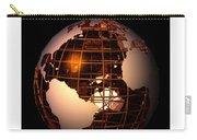 Bronze Globe... Carry-all Pouch