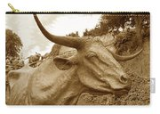 Bronze Longhorn Carry-all Pouch