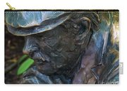 Bronze Man Sitting Carry-all Pouch