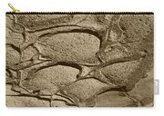 Bronze Mud Patterns 2 Carry-all Pouch