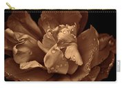 Bronze Ruffled Parrot Tulip Flower Carry-all Pouch