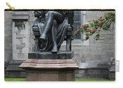 Bronze Statue Of Sir Benjamin Lee Guinness  Carry-all Pouch