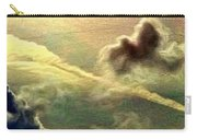 Bronzed Clouds - Vertical Carry-all Pouch