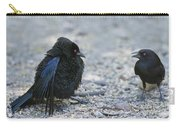 Bronzed Cowbird Display Carry-all Pouch