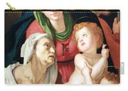 Bronzino's The Holy Family Carry-all Pouch
