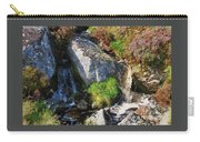 A Brook In The Wicklow Mountains, Ireland Carry-all Pouch