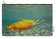Brook Trout And Coachman Wet Fly Carry-all Pouch